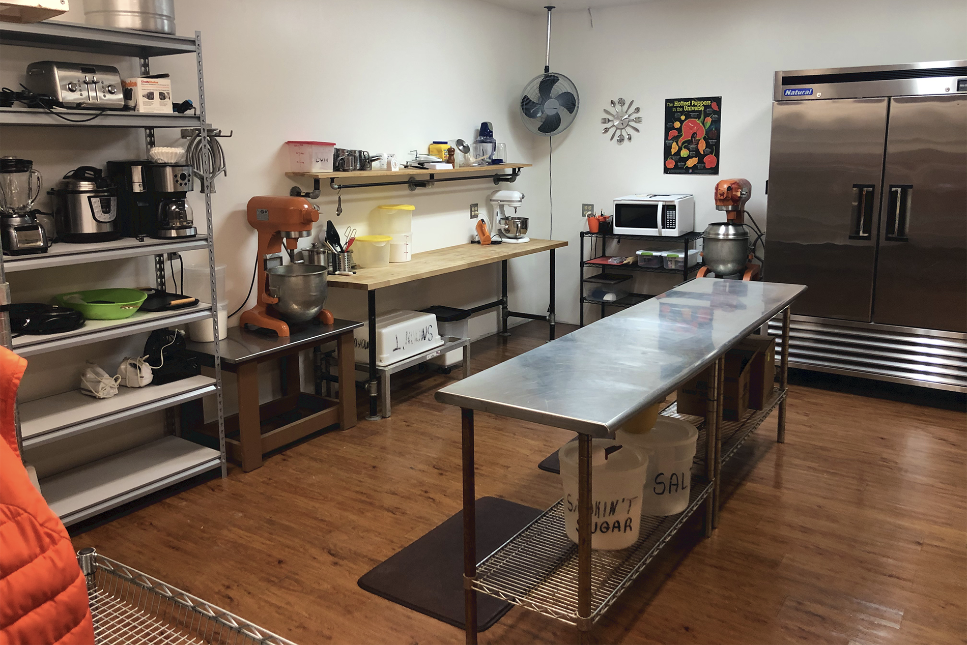 Commercial Kitchen For Rent The Petite Chef